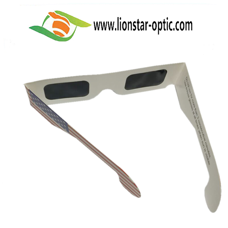 American Model Paper Solar Eclipse 3d Glasses
