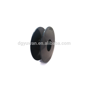 Empty plastic spool/coil/sewing bobbin for textile