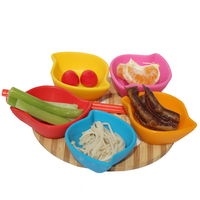 Snack finger foods serving saucers,pcs Clips Kitchen kit Tool