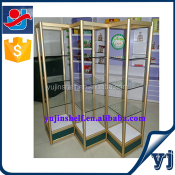 Jewelry/watch/toys/home Decoration Aluminum Glass Display Case ...