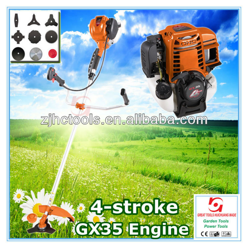 4 stroke Brush Cutter with GX35 Engine
