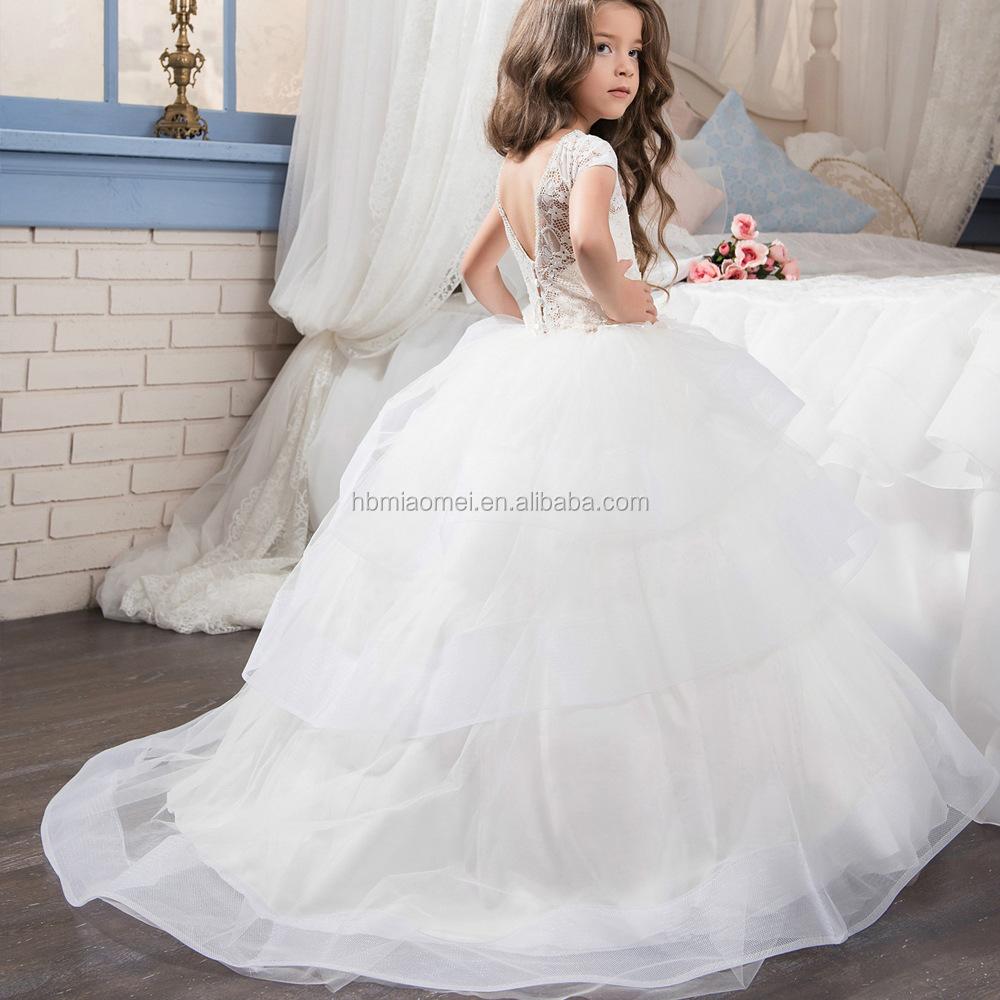 La Bola Blanca Vestido De Vestidos De Niña Vestidos De Primera Comunión Para Niñas Vestidos De Comunion Princesa Vestido