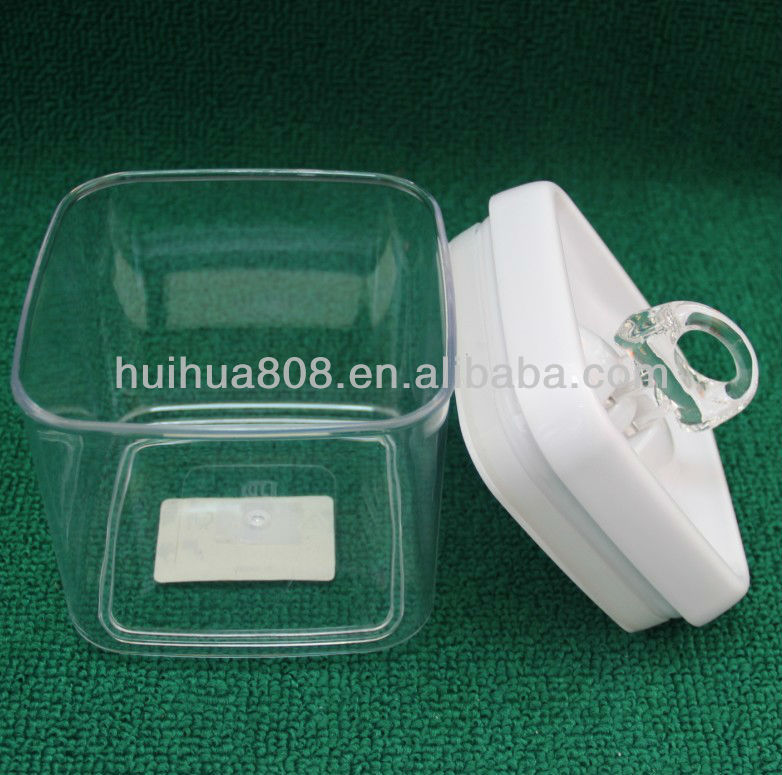 China airtight dry food plastic canister