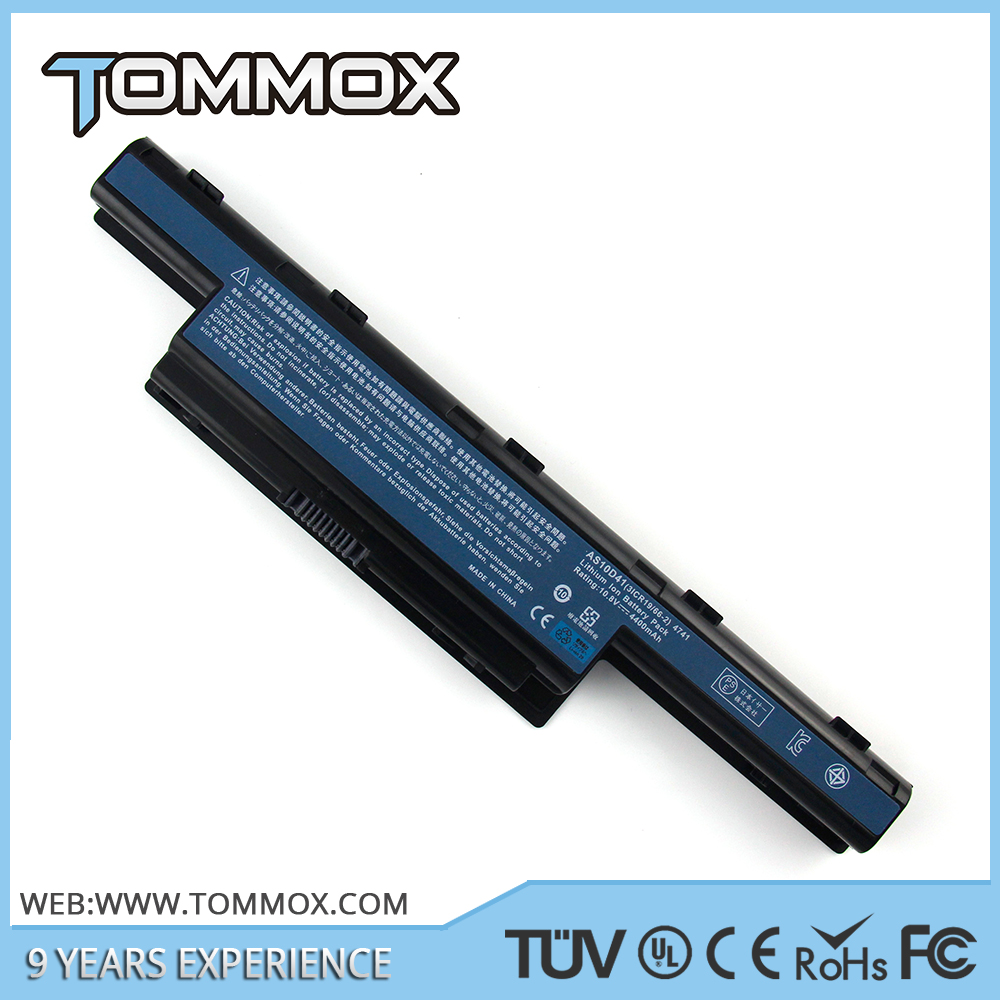 Tommox 6 Cell Li-ion 11.1 notebook battery for AC 4741 laptop battery
