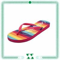 Rainbow PE flip flops