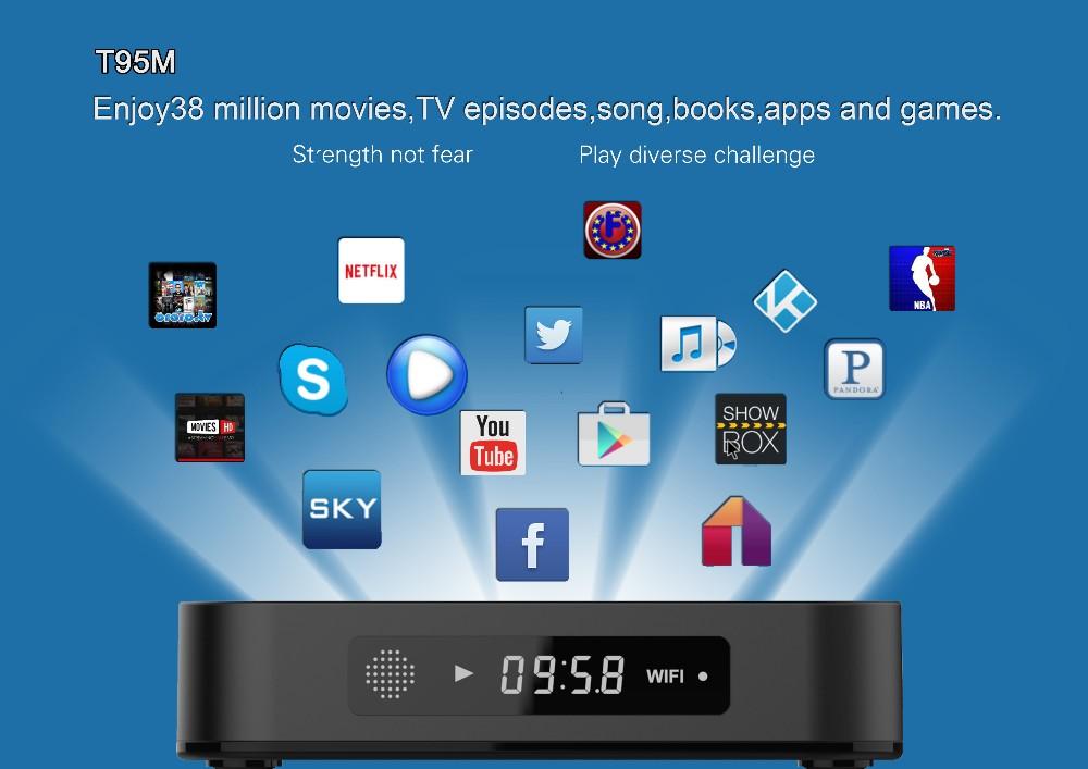 Best Price Iptv Malaysia Hdtv Apk Amlogic S905 Quad Core X Installed  Android5 1 Tv Box T95m 4k 2gb - Buy T95 M Smart Android Tv Box,T95 M  Android Tv