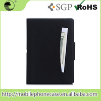 "New Products 12.9"" Black Screen Protector Leather Flip Case For ipad pro"