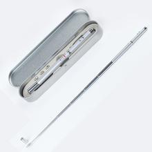 Multi-function Stylus Pen 4 in 1 Retractable Red Laser Pen,Laser Pointer LED Torch Ballpoint Pen+ Extendable Teaching Pointer