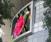P8mm outdoor full color SMD led display programmable led sign outdoor double sided led sign