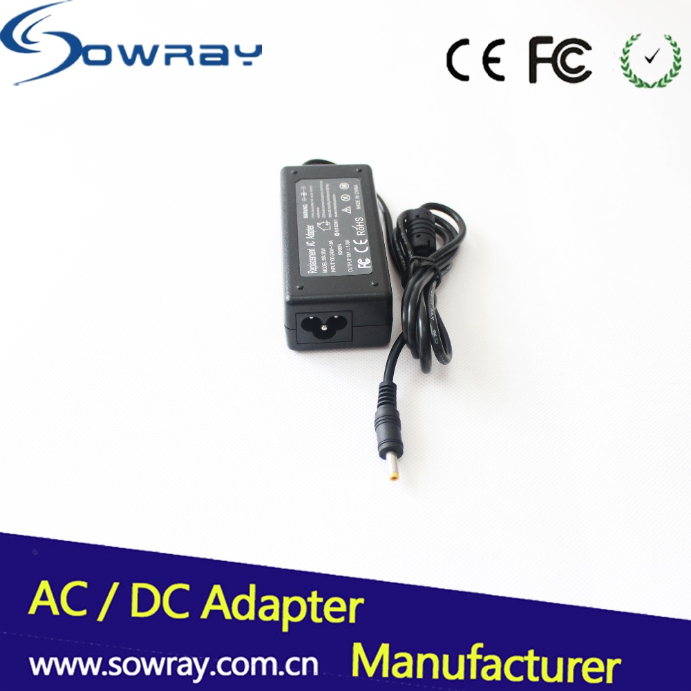High Quality IC 19V 1.58A 30W 4.0*1.7 Yellow Tip Laptop Charger for HP Mini Laptop