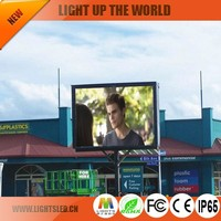 best price of outdoor P6 led screen advertising rates with good quality in 2017