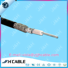 OEM single conductor wire AL foil copper braiding double shielding