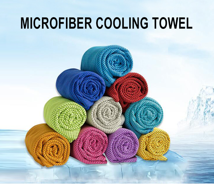 Wholesale china product high quality cooling sports gym towel