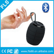 Gift Smartphone/Mp3/Laptop Grenade Portable Speaker Keychain