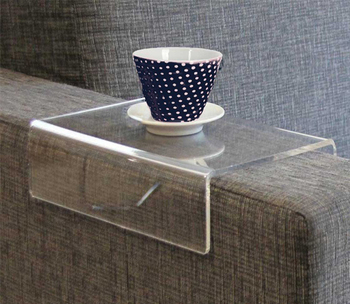Clear Acrylic Sofa Arm Covers Couch
