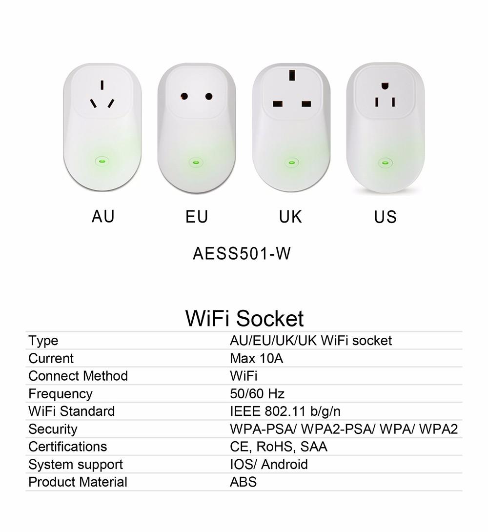 Wireless Control Bluetooth Mesh 4 0 Smart Plug Socket Uk