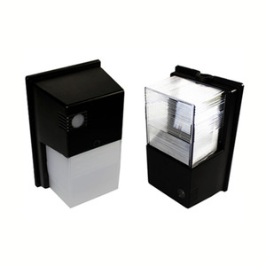 5 years warranty high quality Outdoor indoor Mini LED wall pack light wallpack 15w lamp ip65 black shell waterproof small