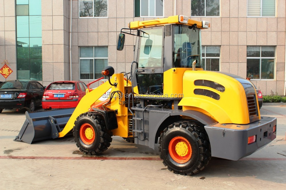 Tuishan brand 4W loader with Changchai Weichai Xinchai engine 1800kg Europe good