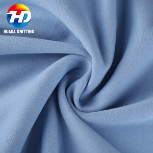 High Grade 95 Cotton 5 Spandex Fabric Cotton French Terry Knitted Jersey Fabric
