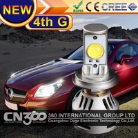High quality new style 12-24v 3200LM G4 led headlight with cooper aluminum alloy structure