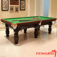 Indoor family use natural slate cheap price TB-CS002 mini pool tables