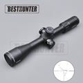 Marcool 4 16x44 SFIR FFP Optical Hunting Riflescope Red Illuminated Reticle Fiber Sight Sniper Hunting Rifle