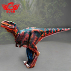 Walking life size realistic costume dinosaur suit for carnival