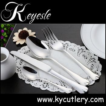 fork spoon knife set silver plated cutlery Inox flatware  sc 1 st  Alibaba & Fork Spoon Knife SetSilver Plated CutleryInox Flatware - Buy Inox ...