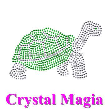 T-shirt Schildkröte Hot Fix Vorlagen Farbe Kristall Eisen Auf Bling ...