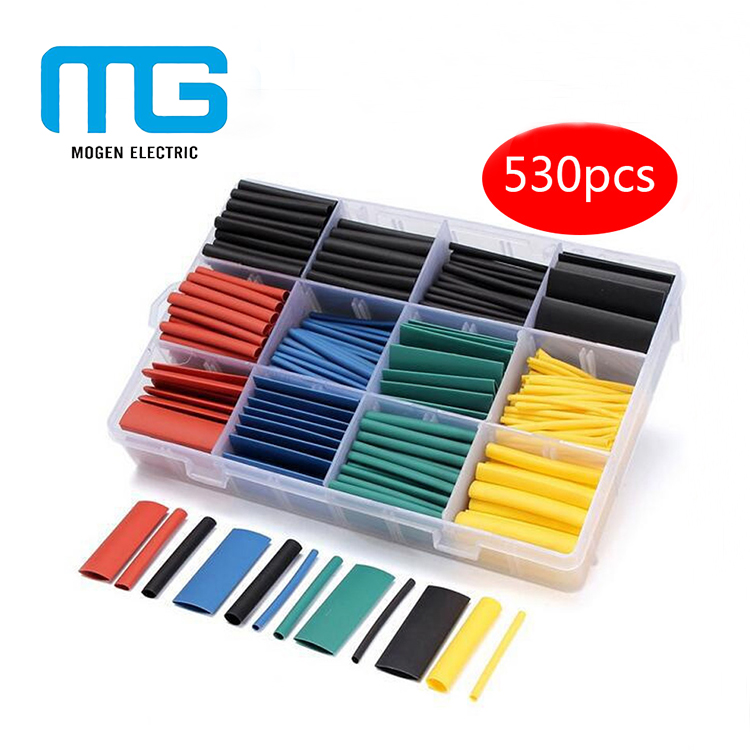 High Quality PVC Heat Shrink Tubing Assortment/Heat Shrink Tubing Kit