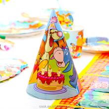 winnie the pooh decorations ,hot sales popular series baby birthday party supplies