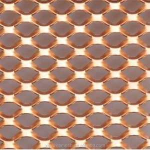 Resistant to corrosion and wear Expanded Copper Mesh and Sheet