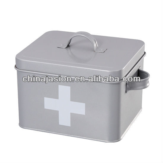 Beau First Aid Kit Box,Grey Metal Storage Case,Medicine,2 Compartments,Carry  Handle   Buy First Aid Box,Tooth Storage Box,Storage Box Product On  Alibaba.com
