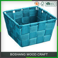 Custom Colorful PP Plastic Gift Basket