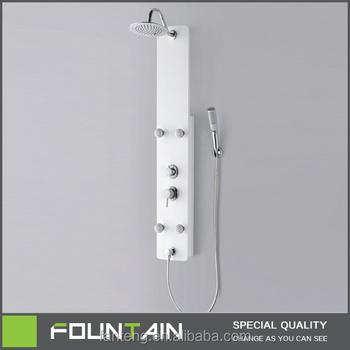 China Bath Pannel Shower Panel White Color Special Design Plastic ...