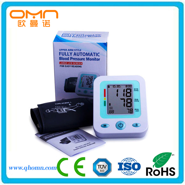 Digital Non Mercurial Sphygmomanometer High Blood Pressure Monitor Electronic Doctor Used bp Holter Cuff Equipped Checking Meter