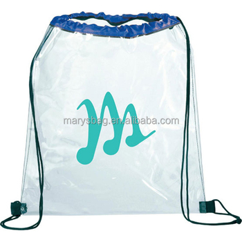 Show And Tell Backpack with drawstring rope closure