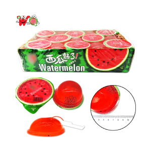 WQ Delicious Watermelon red cup jelly 75g