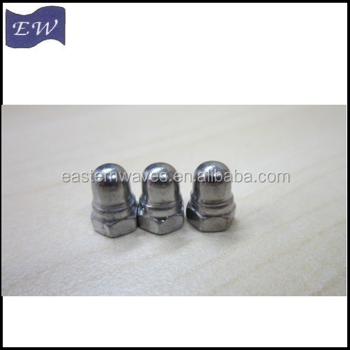 M5 stainless steel domed cap nut (DIN1587)