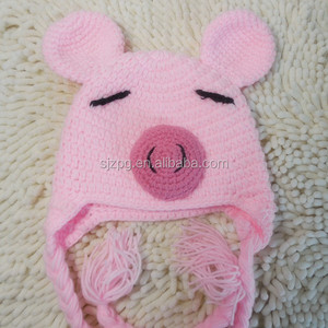 Pig Hat Crochet Pattern Pig Hat Crochet Pattern Suppliers And
