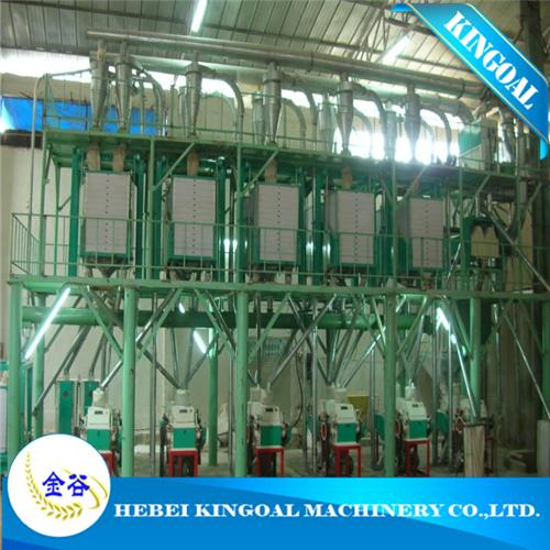 Kingoal wheat flour milling machine in Argentina