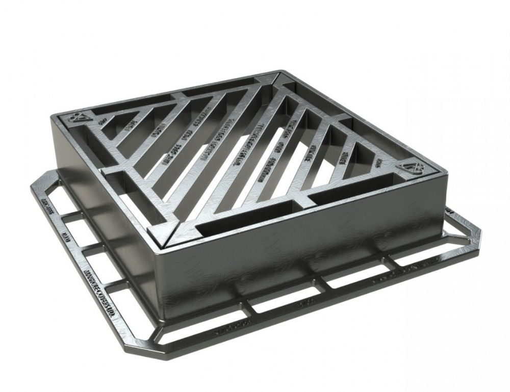 Delightful Cast Iron Trench Gratings Drain Gratings/storm Drain Grate,cast Iron Heated Roof  Drains