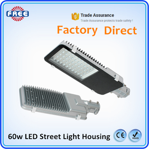 Outdoor IP65 waterproof energy saving 60w led aluminum street light housing for led solar street light