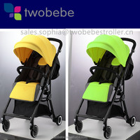 2017 New design Cheap and Convenient one hand fold Jogging Pushchair for Travel