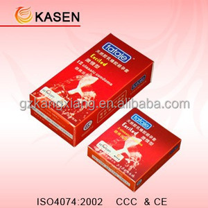Various flavour tongue condoms long time delay