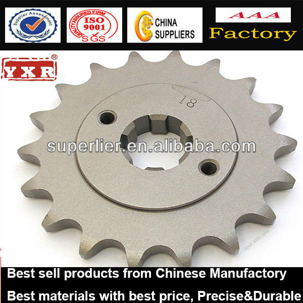 Motorcycle 520 Front Counter shaft Sprocket