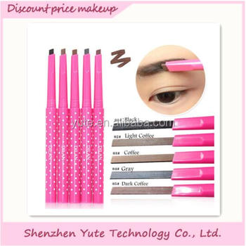 Autorotation gray eyebrow pencil matching Black and dark brown hair