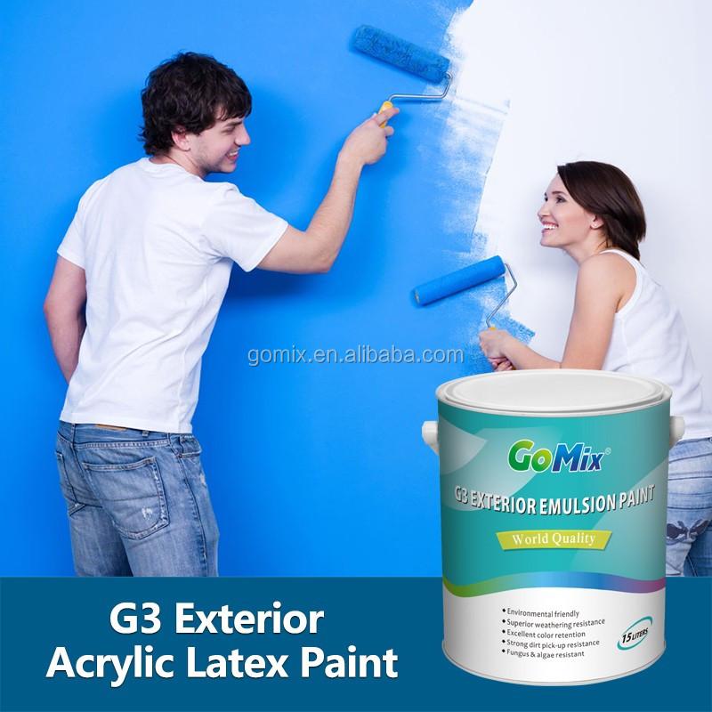 Non Cracking Non Color Fading G3 Grey Exterior House Paint View Grey Exterior House Paint
