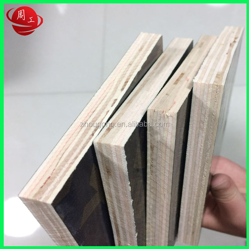 Construction board used top quality film faced plywood Linyi Supplier