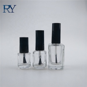 High quality 5ml 8ml 10ml 12ml 15ml clear makeup cosmetic container empty nail polish nail varnish glass bottle
